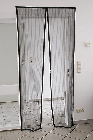 BRAND sseller magnético Mosquitera para puerta mosquitera 90 x 210 cm, Negro: Amazon.es: Bricolaje y herramientas