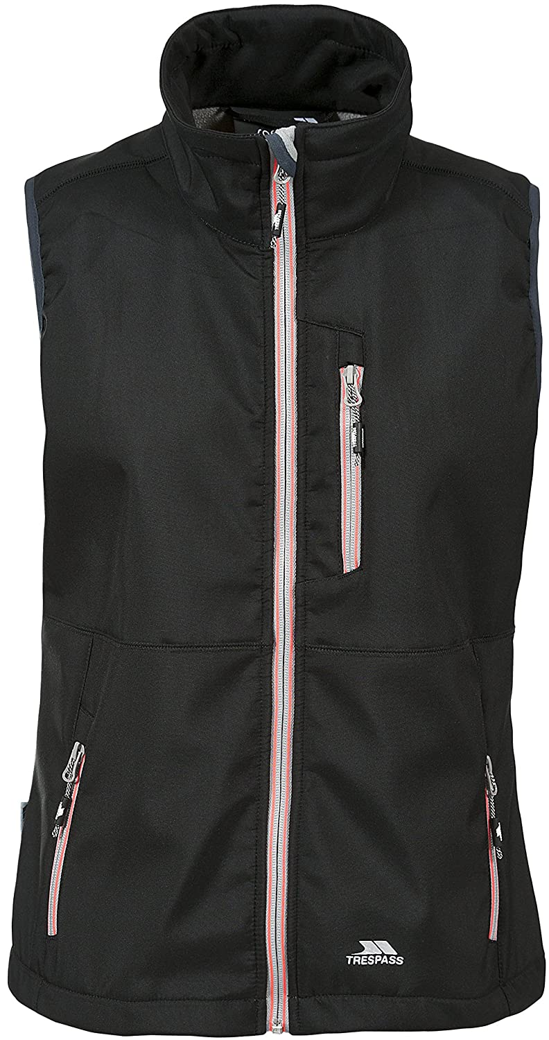 Trespass Women's Eastmain Softshell Gilet: Amazon.co.uk: Sports & Outdoors
