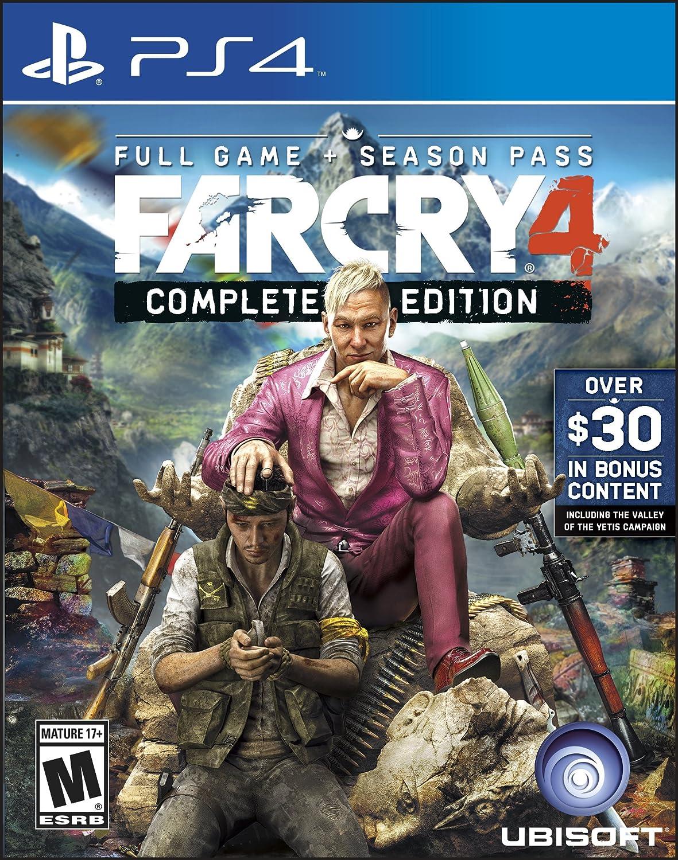 Amazon com: Far Cry 4 Complete Edition - PlayStation 4