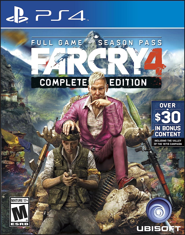 Amazon Com Far Cry 4 Complete Edition Playstation 4 Ubisoft