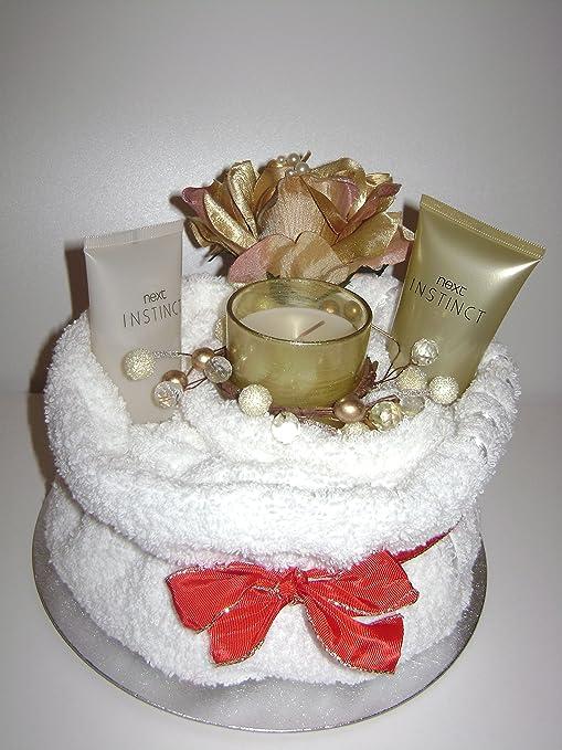 Lujo de la niña/mujer Pamper toalla para tartas con la siguiente Instinct belleza golosinas