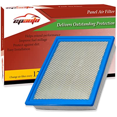 EPAuto GP883 (CA10262) Replacement for Ford Rigid Panel Engine Air Filter for Expedition (2007-2020), F-150 (2009-2020), F-250 Super Duty (2008-2020), F-350 Super Duty (2008-2020),Navigator(2007-2020): Automotive