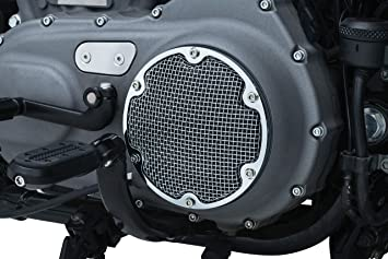 Mesh Derby Cover for 1999-2017 Harley-Davidson Twin Motorcycle Accent Accessory