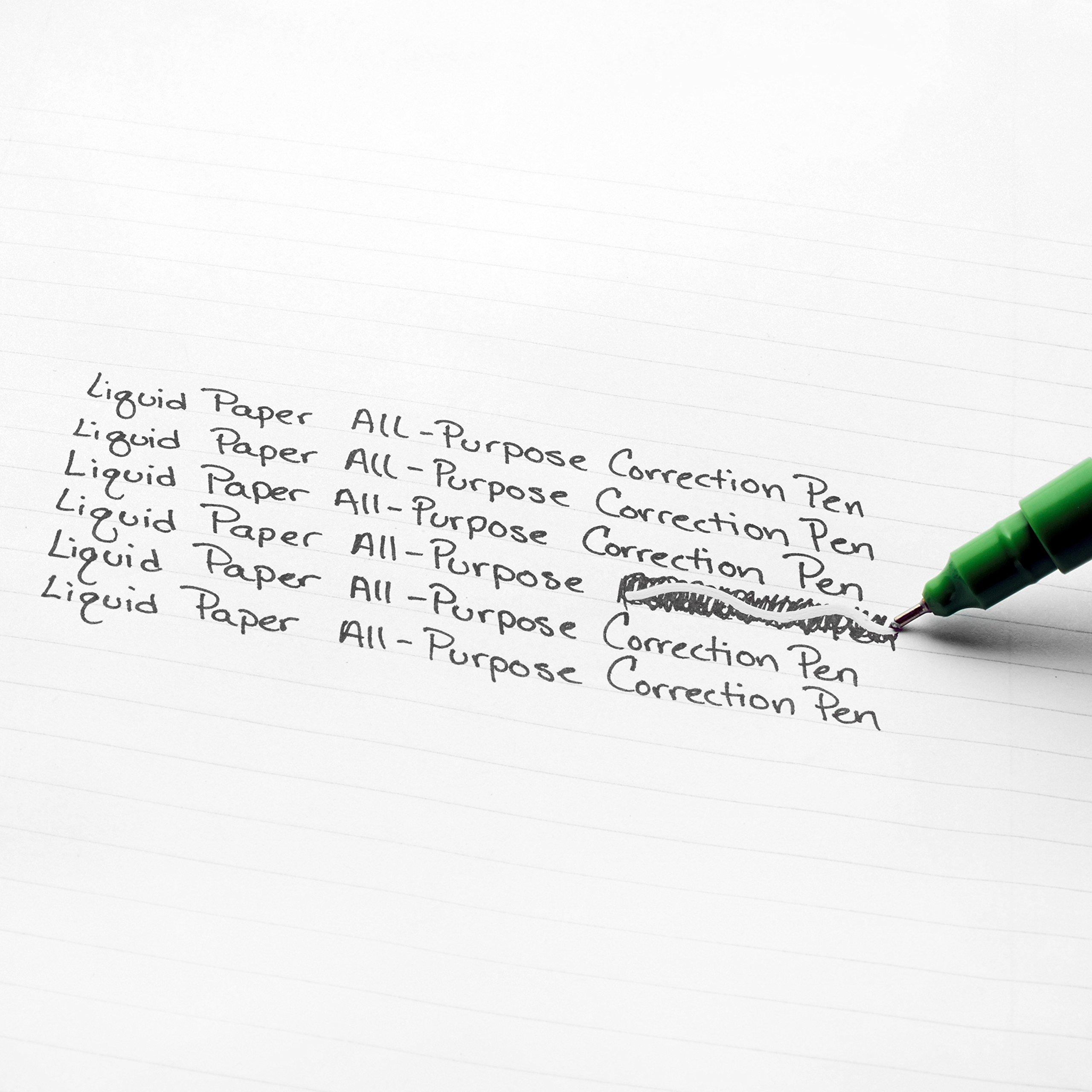Paper Mate Liquid Paper Correction Pen, 7 ml, 2 Count by Liquid Paper (Image #3)