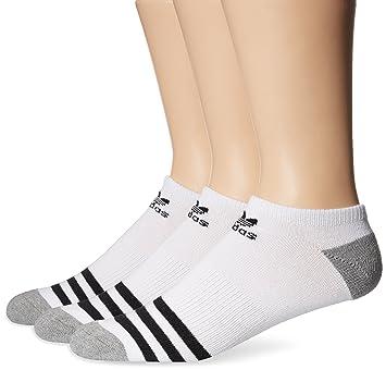Adidas Originals - Hombres De No Show Calcetines (3 Pack), Hombre, Color White/Black/Heather Grey, tamaño Large: Amazon.es: Deportes y aire libre