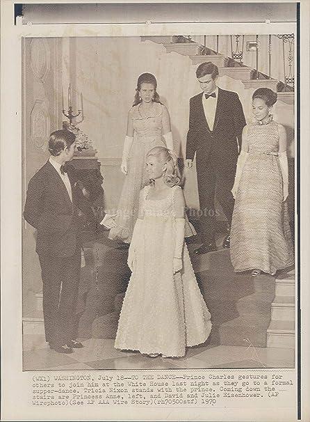 cad775cce Amazon.com  Vintage Photos 1970 Photo Prince Charles Royalty Dance ...