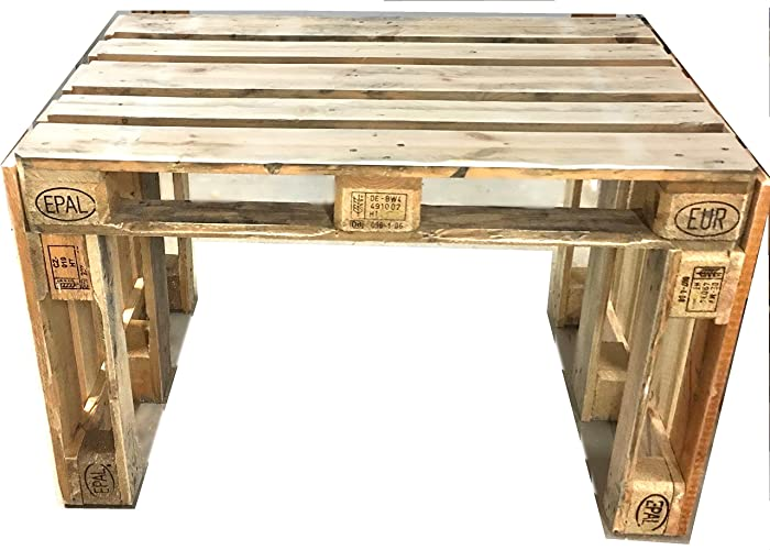 Palettenmöbel ~ Tisch aus Europaletten ~ Palettentisch ~ Tisch ...