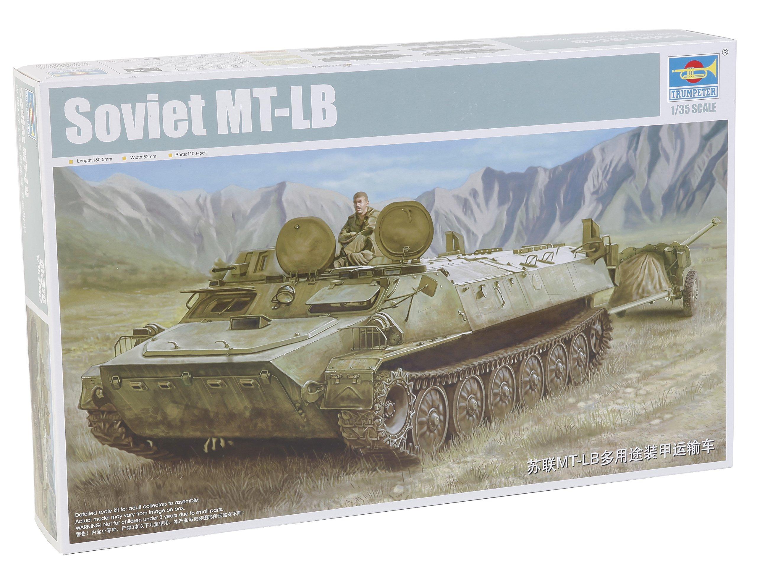Trumpeter Soviet MT-LB Model Kit