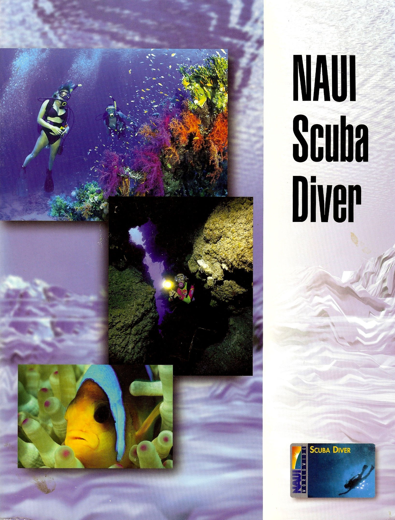 Naui Scuba Diver Anonymous 9780967990309 Amazon Books