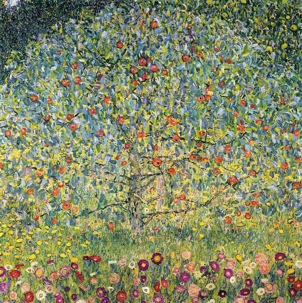 The Museum Outlet - Apple Tree by Klimt - Poster Print Online Buy (30 X 40 Inch)