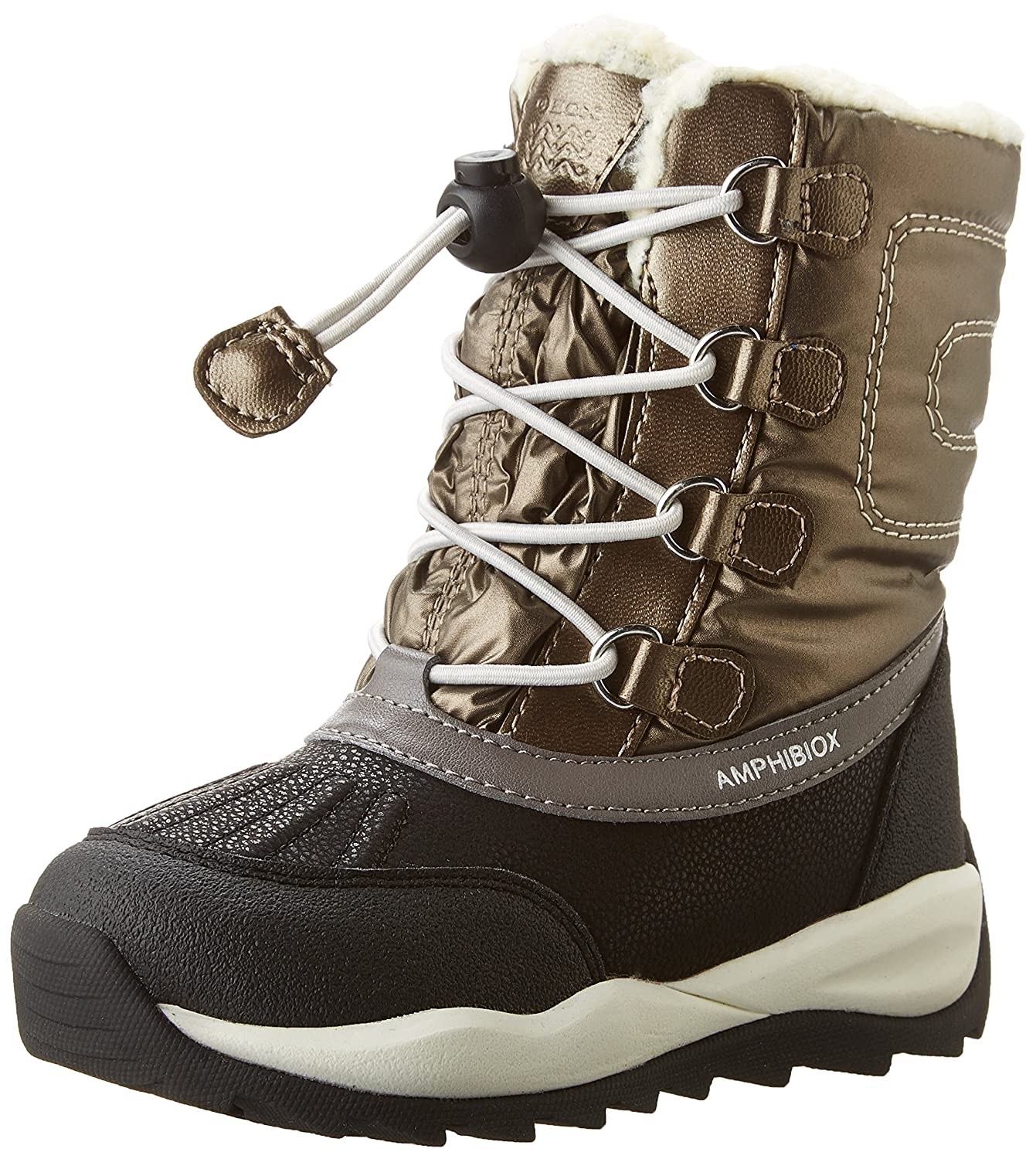 Geox J642BE0FU50 6439 - J Orizont B ABX E - ABX - Bottes de Neige - Mixte Adulte Doré (Dk Goldc2016) 882708d - automatisms.space