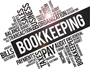 Vinyl Wall Decal Bookkeeping Services Financial Words Business Office Bookkeeper Stickers Mural Large Decor (ig6245) Black