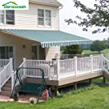 Amazon Com Sunsetter Awnings Patio Awnings Garden Outdoor