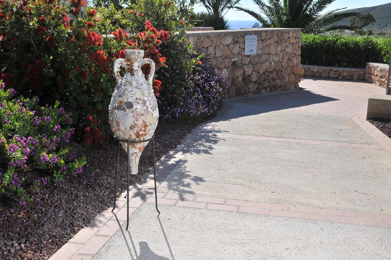 Ánfora Ibiza MD33 56x33cm Antigua con Vida Marina, decoración Marinera. Decoración hogar, decoración Jardin, decoración Exterior, Regalos Originales.: Amazon.es: Hogar