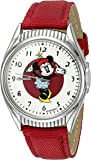 Ingersoll Minnie Mouse Unisex IND 26511 Ingersoll Disney Mickey Mouse Moving Arms Analog Display Quartz Red Watch