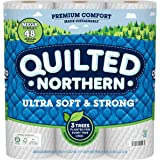 Quilted Northern Ultra Soft and Strong Earth-Friendly Toilet Paper, Mega Rolls, 12 Count of 328 2-Ply Sheets Per Roll (Packag
