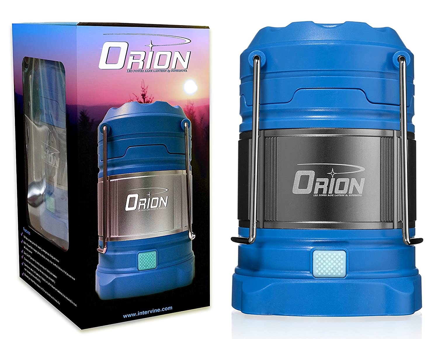 Supernova Orion Ultimate Survival Rechargeable Led Lantern And Power Versatile Emergency Lamp Bank The Most Brightest Unique Camping Recreation