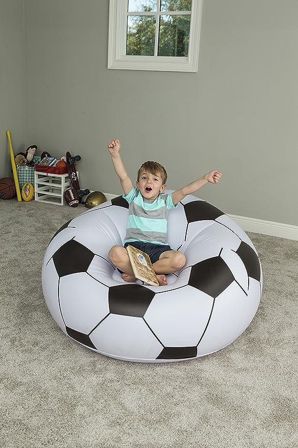 Bestway 75010 - Puff Hinchable Balón Fútbol