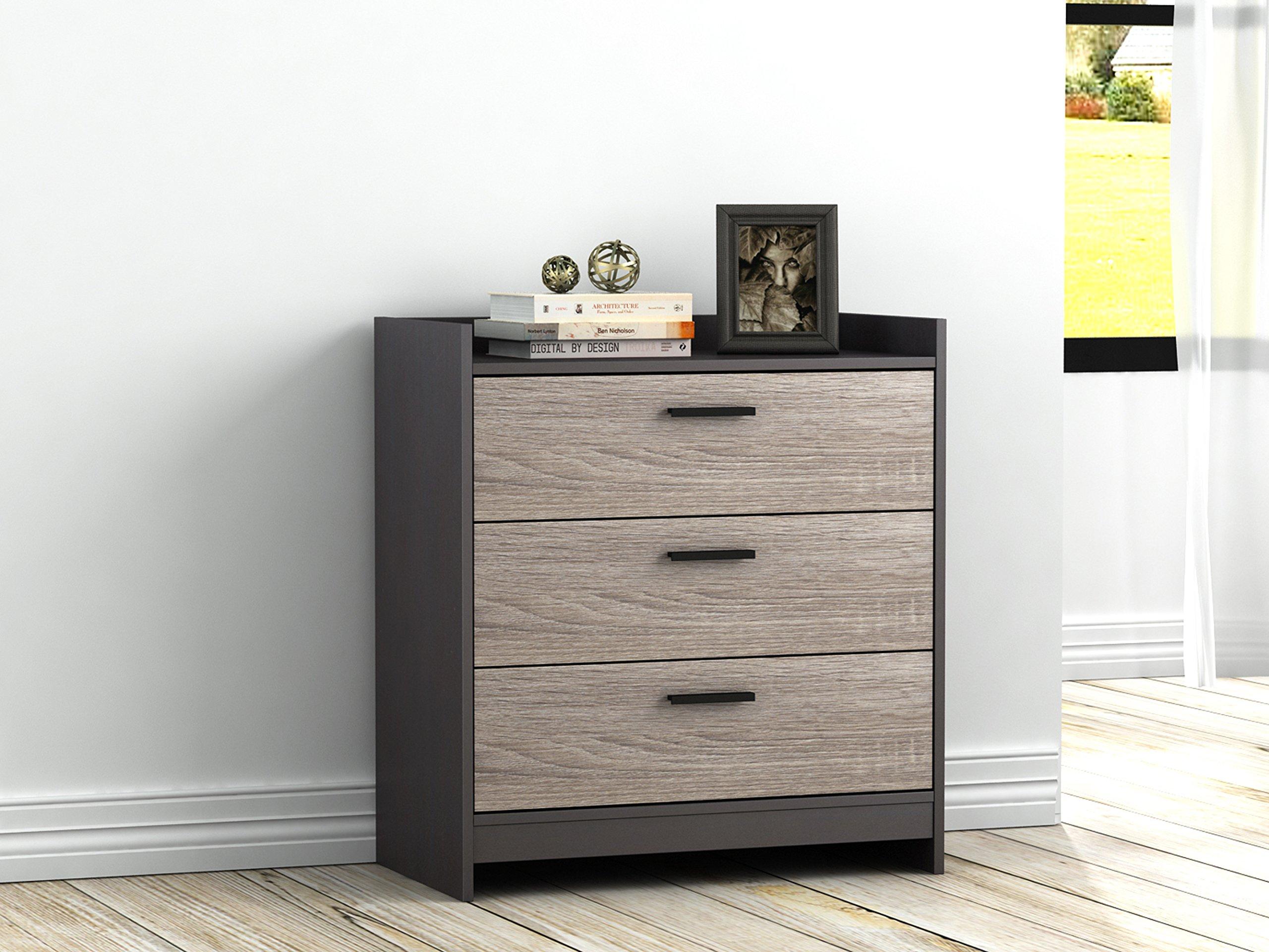 Homestar EB208751JS Central Park, 3 drawer chest