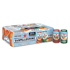 Sanpellegrino Variety Italian Sparkling Drinks, 11.15 Fl Oz. Cans (24 Count)