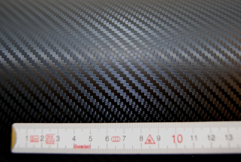 Carbonfolie Carbon Folie = 26,00/€//m2 Auto Bike Laptop Handy * Blasenfrei schwarz wei/ß orange gr/ün rot silber 150 x 50 cm, rot