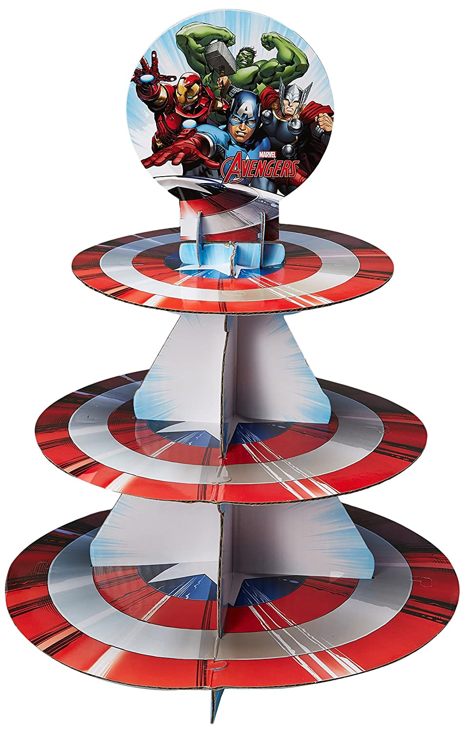 Wilton Marvel Avengers Treat Stand, Multicolor 1512-4110