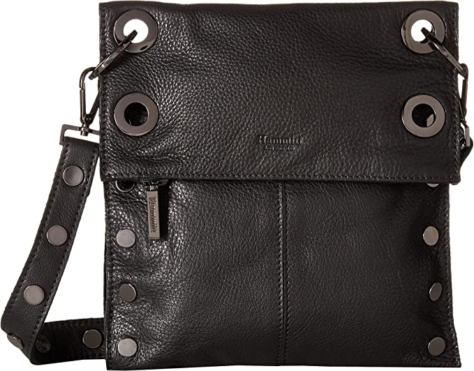 Hammitt Women s LSM Rev Black Gunmetal One Size  Handbags  Amazon.com a3c0a918ec198