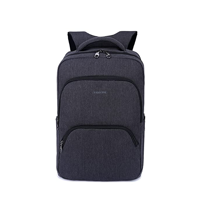 1a80cd790eb1 Tigernu Laptop Backpack 17 inch anti theft Travel Bags (Black grey ...