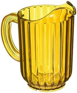 Rubbermaid Commercial Products FG333800GOLD Bouncer Pitcher, 60 oz, Gold