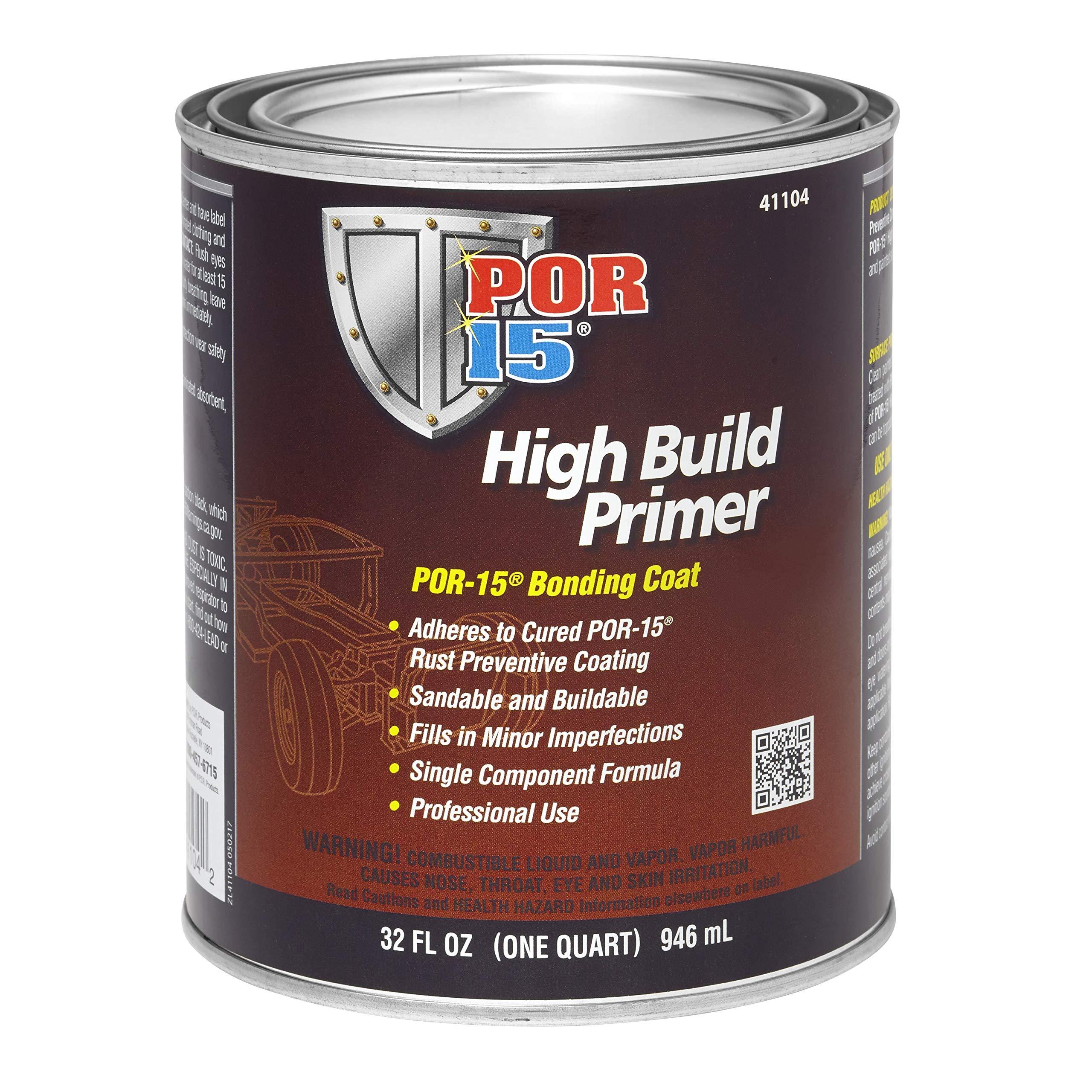 POR-15 41104 High Build Primer - 1 quart (Packaging may Vary)