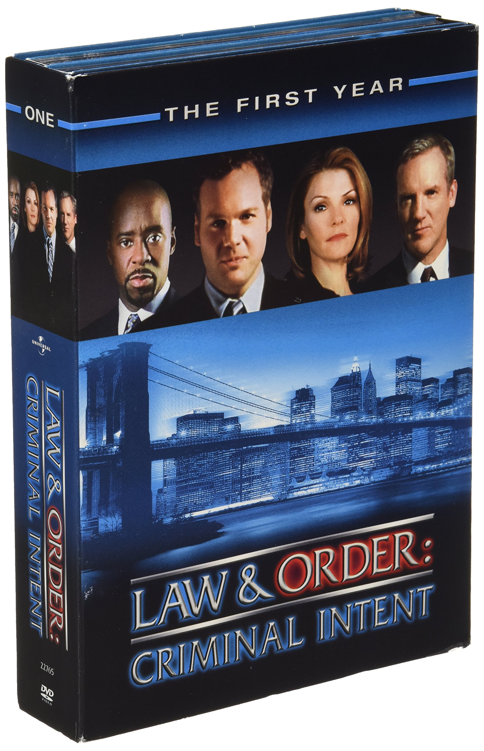DVD : Law & Order - Criminal Intent: The First Year (Boxed Set, Full Frame, , Dubbed, Dolby)
