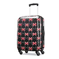 American Tourister Disney Hardside Luggage with Spinner Wheels, Minnie Mouse Head...