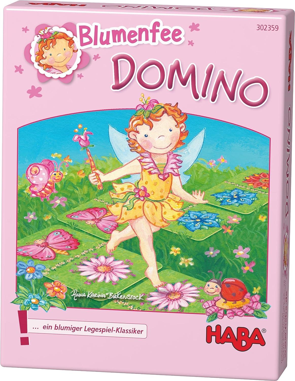 HABA 302359 – Flores Hada Domino, Juego de Mesa.: Gleichmann ...