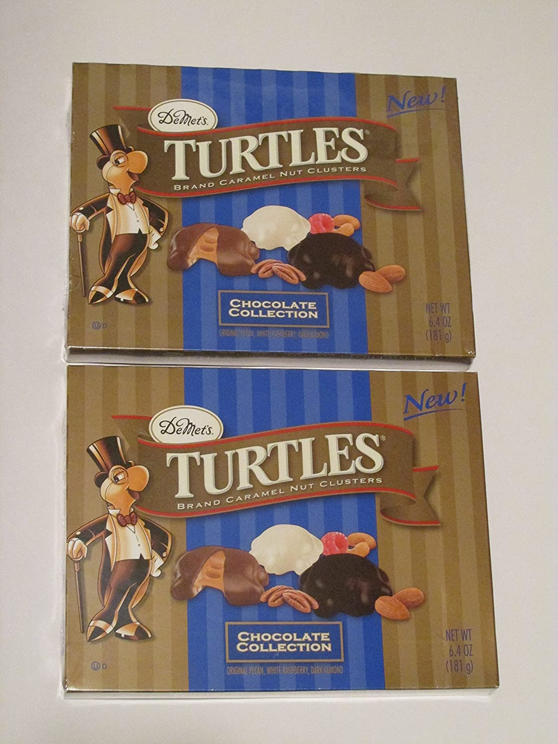 Amazon.com : DeMet's Turtles Chocolate Collection with Original ...