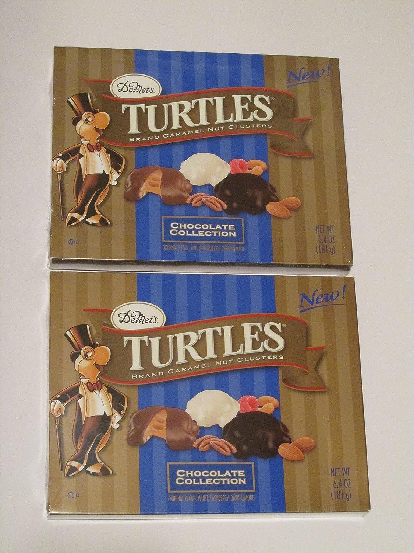 Amazon.com : DeMet's Turtles Chocolate Collection with Original ...