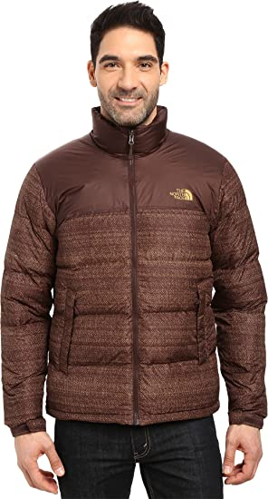 on sale d944f 6be7b ... where can i buy the north face mens nuptse jacket coffee bean brown  twitch print coffee