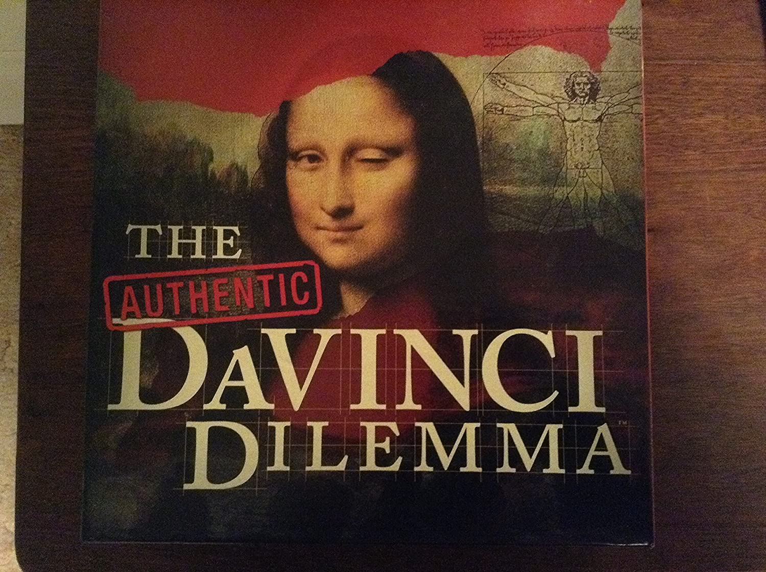 The Authentic DaVinci Dilemma Game Rumba Games