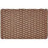 """Rockport Rope Doormats 2034224 Indoor & Outdoor Doormats, 20"""" x 34"""", Tan"""