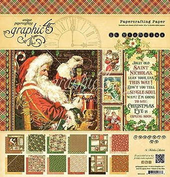 Deluxe Sammleredition Graphic 45 4501741 - Die zw/ölf Tage des Weihnachts