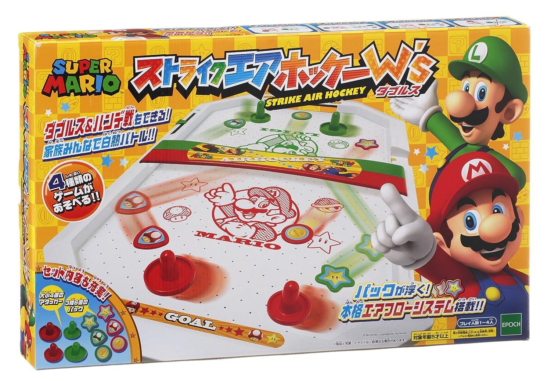 Super Mario Strike air hockey Ws (doubles): Amazon.es: Juguetes y ...