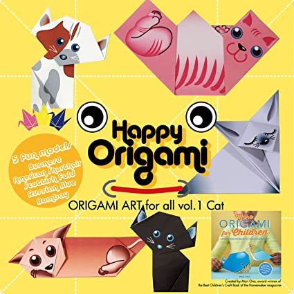 picture about Free Printable Origami Paper referred to as : Cats Entertaining Origami Paper Package for Little ones