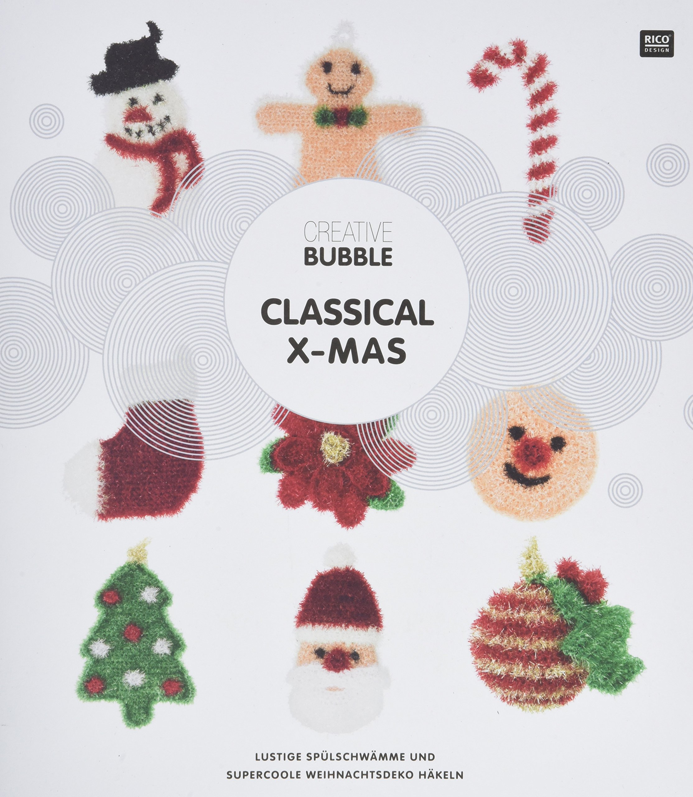 Creative Bubble Classical X Mas Festliche Weihnachtsdeko Häkeln
