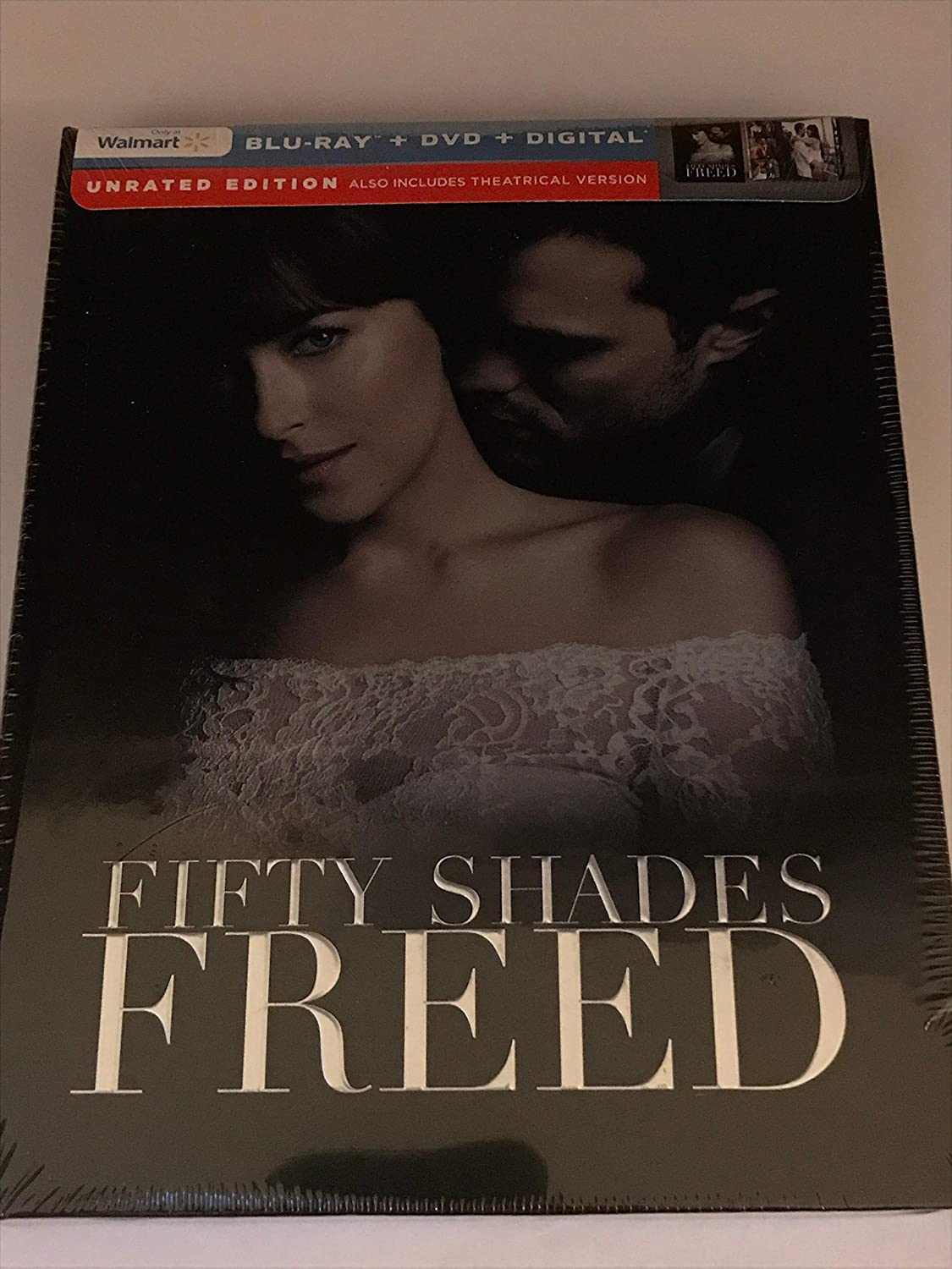 Amazon.com: Fifty Shades Freed Unrated Walmart Exclusive Blu  Ray/DVD/Digital: Movies & TV
