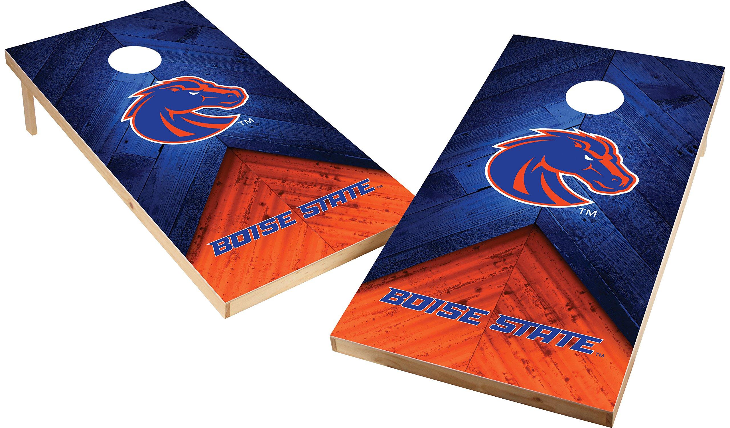 Wild Sports NCAA College 2'x4' Boise State Broncos Cornhole Set