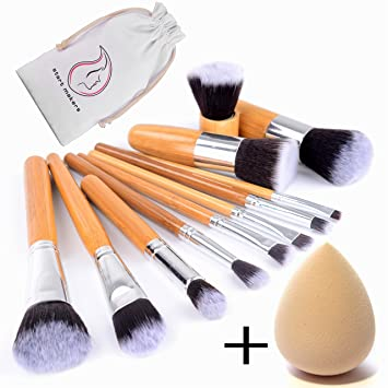 Start Makers 12 Teiliges Makeup Pinsel Set Make Up Kabuki Pinselset