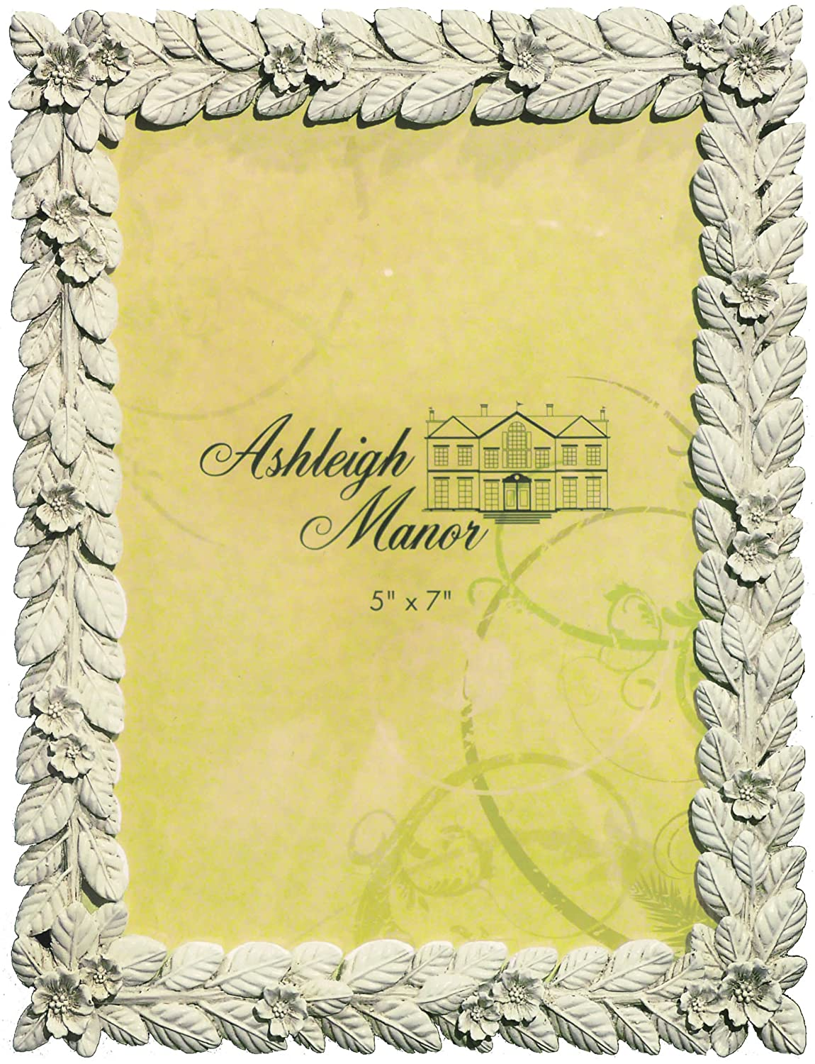 Buy Ashleigh Manor Garland Frame, White Online at Low Prices in ...