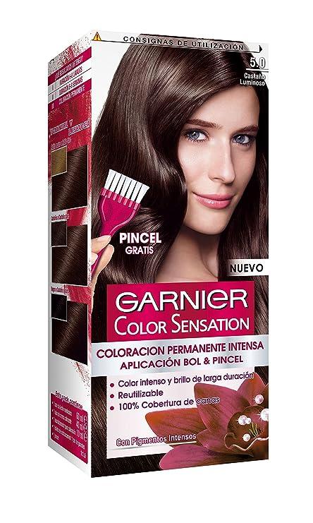 Garnier Color Sensation Coloración Nº5.0 Castaño Luminoso - 200 gr
