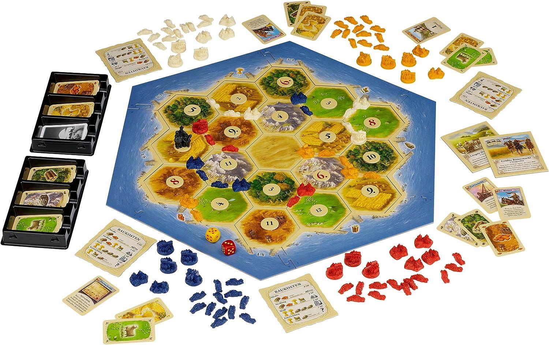 KOSMOS 69360 - Juego de Tablero (Multi, 29,7 cm, 7,3 cm, 29,7 cm): Teuber, Klaus: Amazon.es: Juguetes y juegos