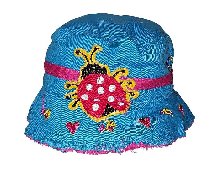 c04832a42b18d Just Speed Unisex Kids UV Sun Protective Cotton Bucket Hat Reversible (Aqua)