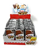 Kinder Cards Wafers with Milk and Cocoa Filling